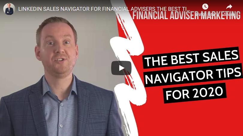 LinkedIn Sales Navigator Tips