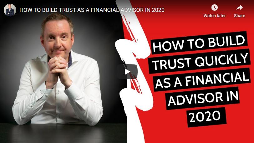 how to build trust as a financial advisor