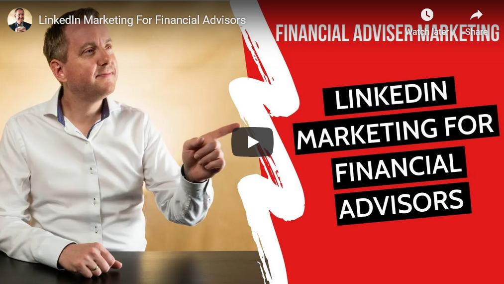 Linkedin marketing for financial advisors