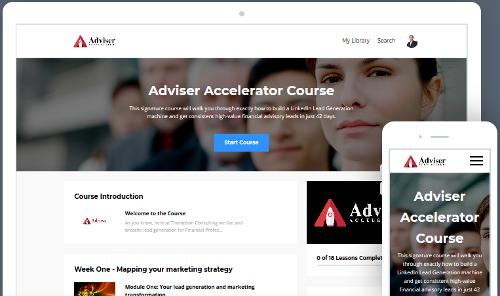 Adviser Accelerator Course